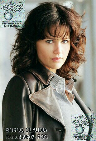 The *real* Claudia           Bosco! (played by Carla Gugino)