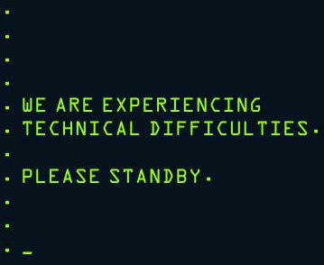 Please standby.